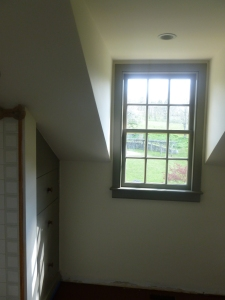 After - the bathroom dormer