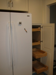 Refrigerator and pantry