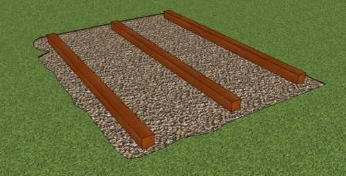 storage building foundation plans